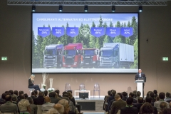 Metanauto 2018: Area conferenza. Scania