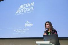 Metanauto 2018: Area conferenza. Presidente Federmetano