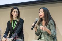 Metanauto 2018: Area conferenza. Irene Priolo e Licia Balboni
