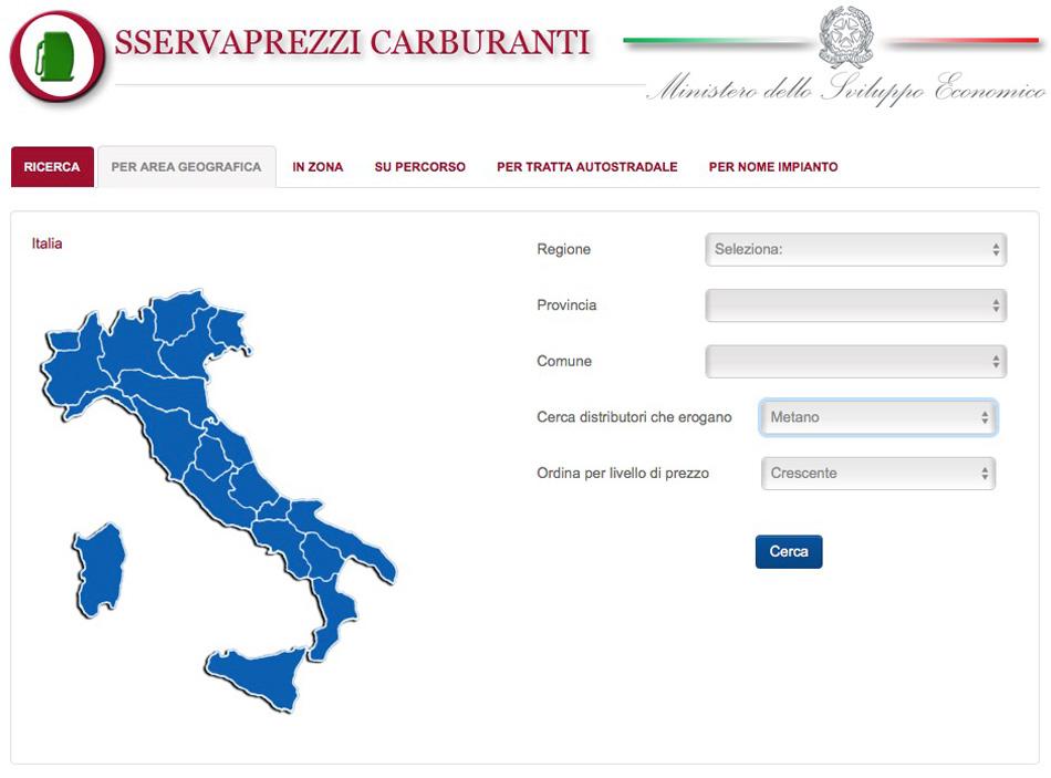 Cartina Distributori Metano Puglia.Distributori Metano Per Auto Il Metano Compresso Cng Federmetano