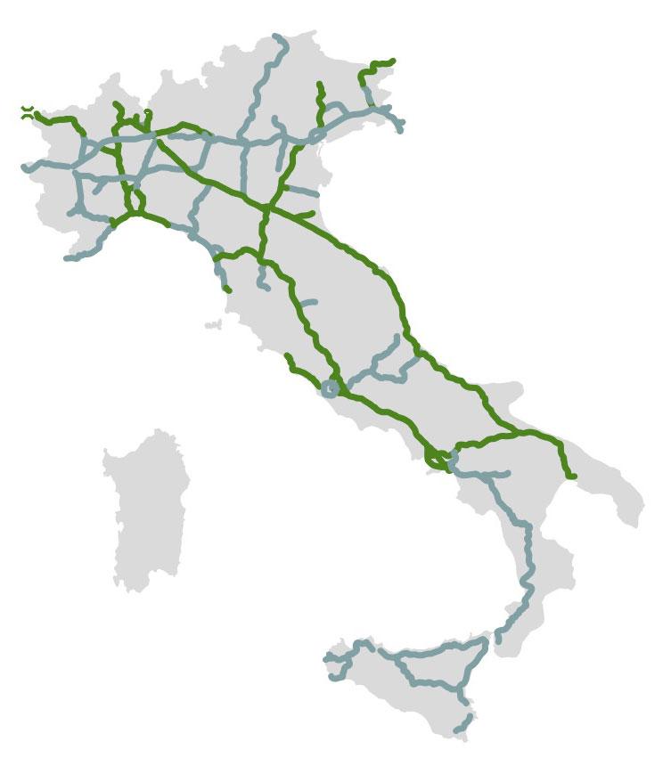 Cartina Distributori Metano Puglia.Distributori Metano In Autostrada Metano Compresso Cng Federmetano